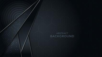 Premium luxury background with overlap layer background and patter on background. Vector premium background. Eps10