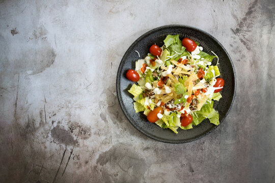 Carne Asada Mexican Taco Salad