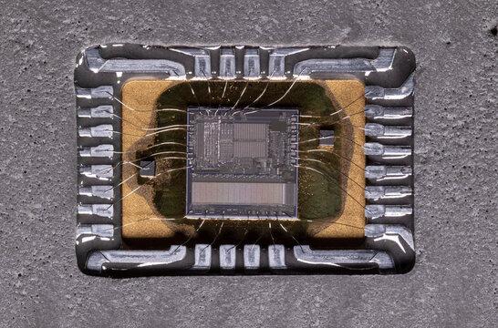 EPROM Integrated Circuit Memory Macro