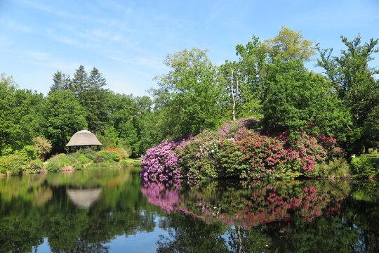 Schlosspark zu Lütetsburg, Ostfriesland