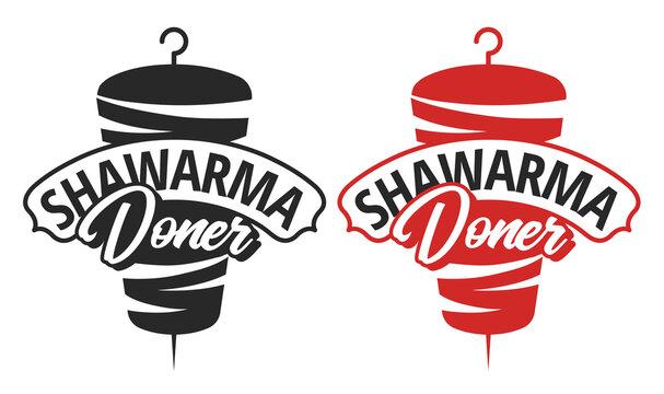 Shawarma Doner Logo Template Vector