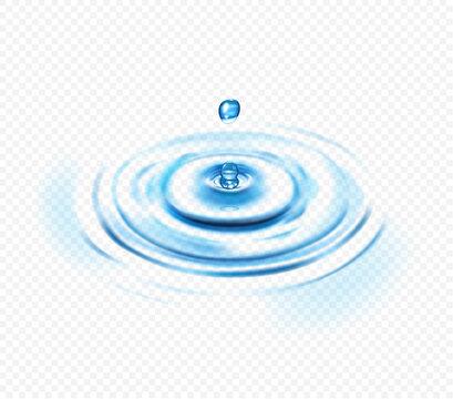 Water Ripple Transparent Concept