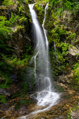 Wall Mural - view of the waterfalls in Fahl in the Black Forest region of Germany in summer