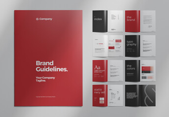 Brand Manual Layout