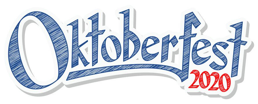 Header with text Oktoberfest 2020