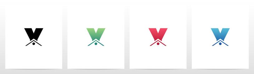House Roof On Letter Logo Design Y