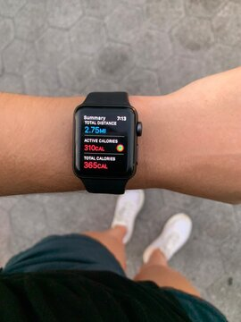 apple watch physical activity