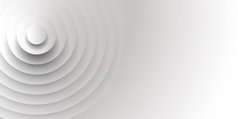円 シルエット 立体 背景 Fototapete