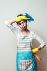 The concept of household chores a burden