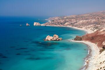 Photo sur Plexiglas Chypre cyprus : aphrodite's rock