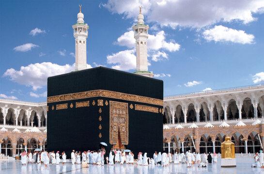 The Holy Kaaba Mecca