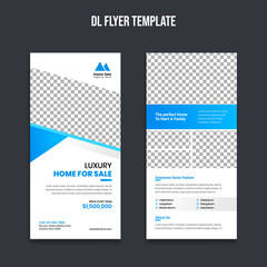 Real Estate rack card flyer template