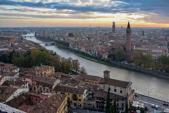 A Florentine view over looking the famous Italian City