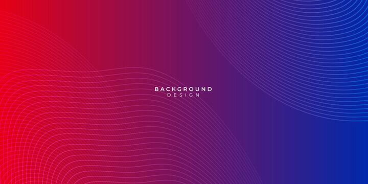 Modern red blue abstract presentation background with science and technology themes style