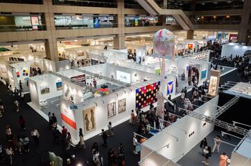 Art Taipei Expo is the landmark of Asian