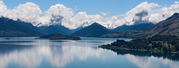 Queenstown, New Zealand Landscape