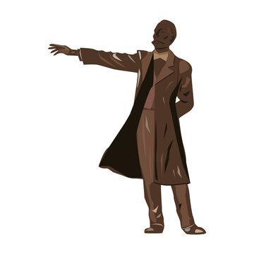 クラーク博士像