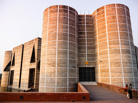 Bangladesh National Parliament or Jatiya Sangsad Bhaban