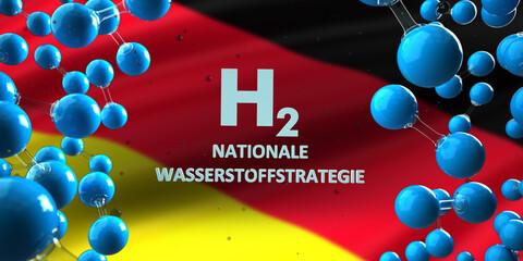 H2 Nationale Wasserstoffstrategie in Deutschland