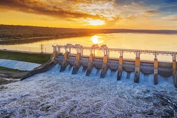 Fototapeta hydroelectric power station