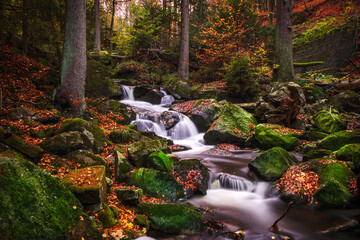Ilsefall im Nationalpark Harz