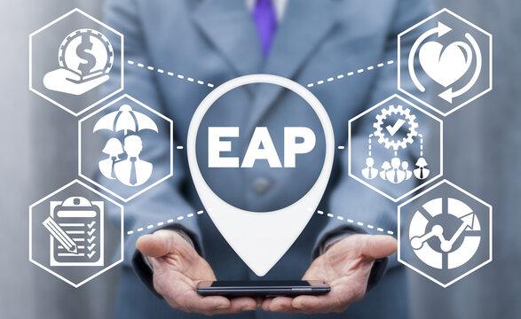 EAP Employee Assistance Program Business Concept.
