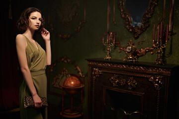 luxury vintage room