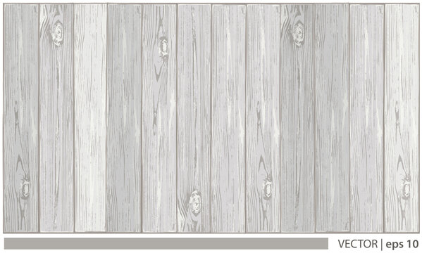 Vector light wood background surface with wooden realistic texture