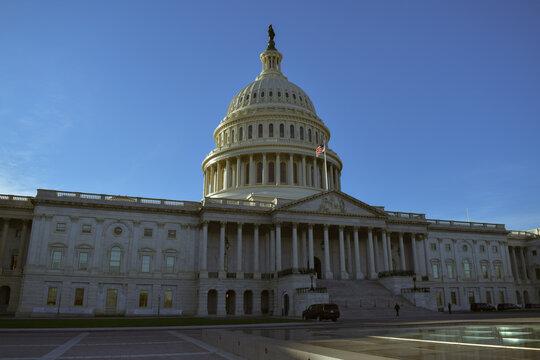 US Capitol Rotunda from SCOTUS Side