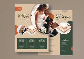 Photography Pricing Guide Flyer Layout