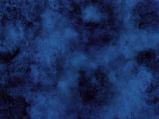 Hand drawn abstract background. Imitation of the stone surface. Blue paint splashes. For creating backdrops or textures.