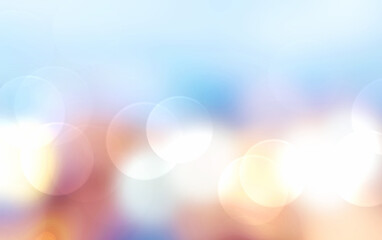 Wall Mural - Abstract background blur with bokeh
