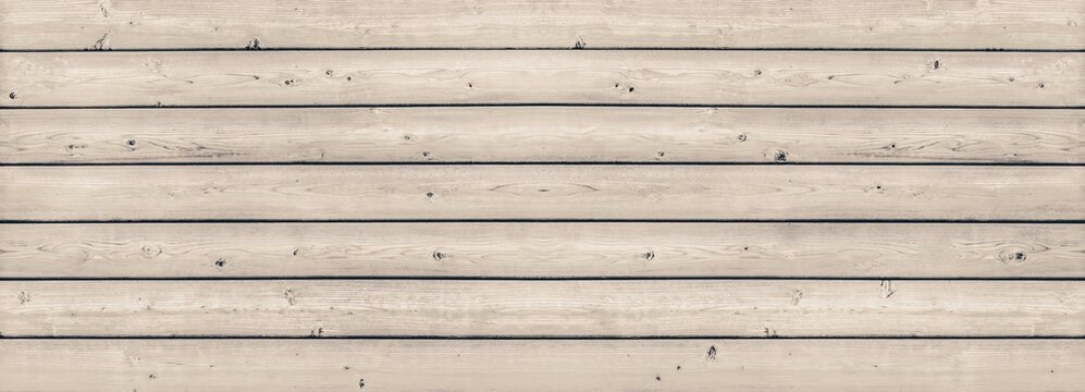 Old light color wood wall for seamless wood background and texture