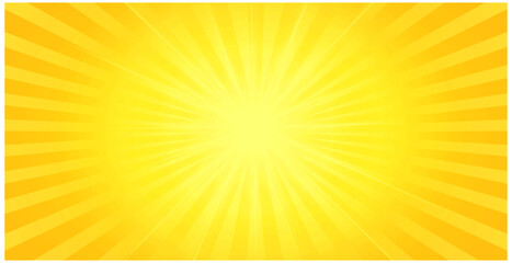 yellow background with center glowing light effect