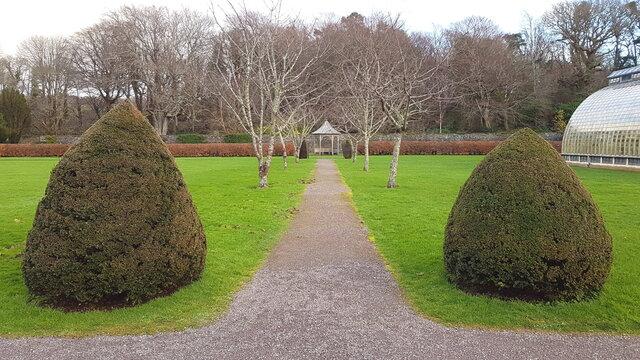 Gardens in Killarney national park, Ireland