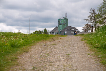 Wall Mural - Peak of Kahler Asten, Sauerland, Germany