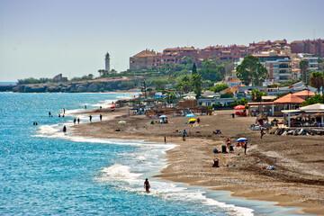 Playa del Penoncillo Torrox Costa Andalusia Axarquia Costa del Sol Spain Fotomurales