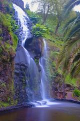 Wodospad za Azorach