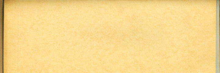 Old paper texture. Rough faded surface. Blank retro page. Empty place for text. Panoramic background for vintage style design.