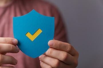 Fotorolgordijn Londen protection secure sign shield symbol internet