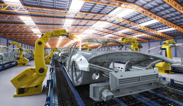 Automation aumobile factory