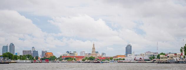 Fotomurales - panorama of the city of Bangkok ,Thailand