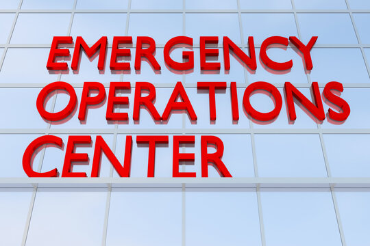EMERGENCY OPERATIONS CENTER concept