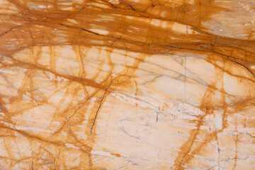 Foto auf Acrylglas Marmor Beautiful marble background in elegant light brown tone.