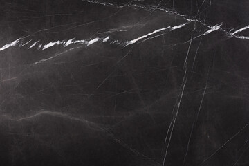 New marble background in strict black colour.