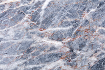 Tuinposter Marmer Natural beautiful grey marble background for your stylish interior view. High quality texture.