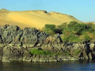 Egypte, rives du  Nil