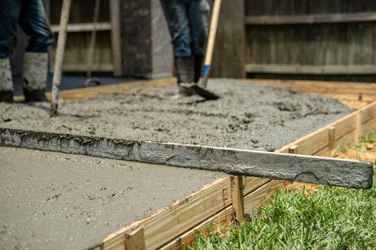 concrete pour rebar