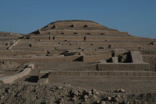 Cahuachi Pyramids, Peru