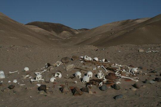 Burial Mound, Nazca Desert